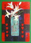 1 x playing card created by artist ? Soraya French 8 of Hearts T2