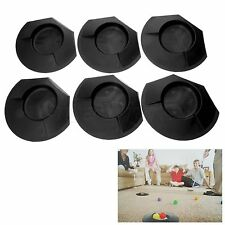 6X Plastic Golf Putting Cup Hole Indoor Outdoor Home Backyard Practice Training