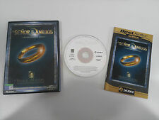 EL SEÑOR DE LOS ANILLOS LA COMUNIDAD DEL ANILLO PC CD-ROM ESPAÑOL BLACK LABEL
