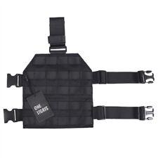 OneTigris Tactical Molle Drop Leg Thigh Platform Panel for Right Pistol Holster