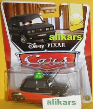 ALEXANDER HUGO with PARTY HAT - Mattel Disney Cars 1:55 Professor's Team Metal
