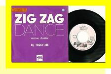 FOGGY JOE 45 TOURS FRANCE JEAN-MICHEL JARRE ZIG ZAG