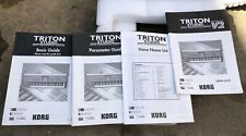 "Korg Triton Studio Guide Owner's Operating Manual"" lot of 4"
