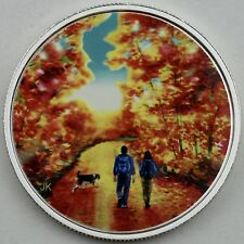 2017 $15 Great Canadian Outdoors: Sunrise Pure Silver Color, Glow in the Dark