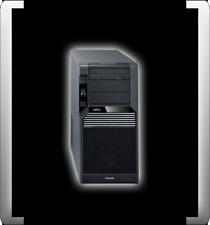 FUJITSU SIEMENS CELSIUS M470-2 INTEL QUAD W3520 2,67GHZ 4GB RAM 160GB HDD FX1700