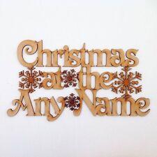"""Corte láser """"personalizado Navidad a la cotización de artesanía.. 'Signo Signo (CP8)"""