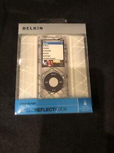Belkin Clear Acrylic Shield Reflect Rock F8Z381 For iPod Nano 4th Generation