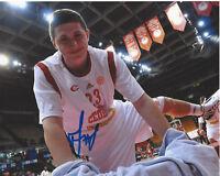 PORTLAND TRAILBLAZERS JUSUF NURKIC SIGNED AUTHENTIC 8X10 PHOTO B w/COA NBA