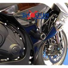 Suzuki 2012-16 GSXR1000 GSXR 1000 Shogun Frame Sliders Cut Version Black