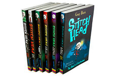 Stitch Head Collection Guy Bass 6 Books Set Ghost of Grotteskew Monster Hunter