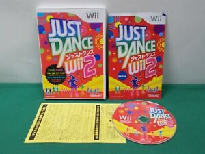 Nintendo Wii -- JUST DANCE Wii 2 -- with flyers *JAPAN GAME* 60198
