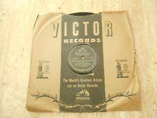 "78 RPM ""SOMETHING SENTIMENTAL/DOWN IN CHI-CHI HOTCHA WATCHEE"" VAUGHN MONROE 1945"