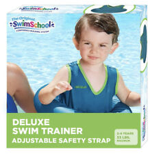 Swim School Aqua Tot Trainer Vest Tube Children Toddlers Kids Swimming Pool Blue