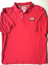 Mark Martin Bugles Racing Red Polo Shirt Size Large RN68142