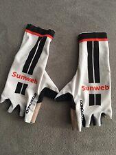 Original Team Sunweb Zeitfahr- Handschuhe kurz  Gr. S - gebraucht