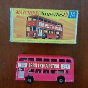 MATCHBOX LESNEY No.74 Daimler Bus ESSO. Excellent Condition,with original Box ,