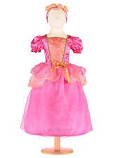 PRINCESSE fée UK, filles Tropical Princess Dress Pink Princess Dress Up 6/8 ans