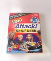 2002 Uno Attack Game Refill Deck by Mattel - 112 Cards - BRAND NEW + SEALED