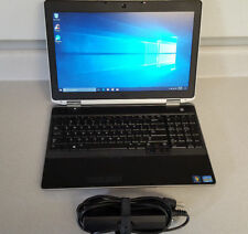 """Dell Laptop i5 2.5GHz Windows 10 Latitude E6530 8GB 250GB SSD 15.6"""" DVDRW Webcam"""