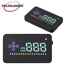 "3.5"" GPS HUD Car Head Up Display Overspeed Alarm Digital Car Speedometer A2 HUD"