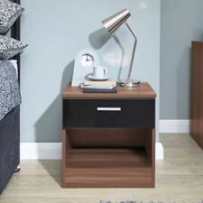 Modern 45cm-50cm Height MDF Bedside Tables & Cabinets