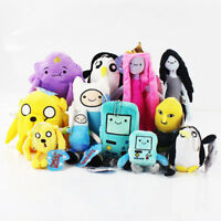 Adventure Time Finn Jake Beemo BMO Plush Soft Figure Anime Toy Doll Gifts
