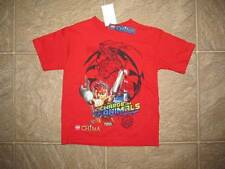 NWT Boys LEGO CHIMA T-shirt Size Small 4 S Red Legos