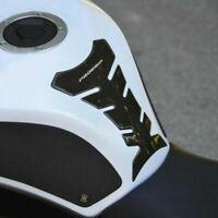 3D Fibra de Carbono Motocicleta Protector Sticker Decal Fit