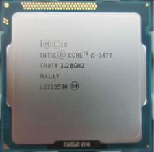 CPU PROCESSORE INTEL QUAD CORE i5-3470 (6M Cache, 3.20 UP 3.60 GHz) LGA 1155