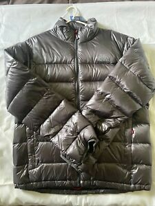 The North Face Down Jacket - Dark Grey - Size L - 001