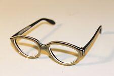 Vintage Italian Frame Eyeglasses Designer Plastic 5 1/4 DIOR 1960s? Diora?