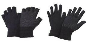2 Pairs Adult Handy Fingerless or Full Finger Magic Rubber Grip Driving Gloves