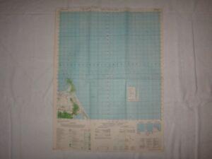 Vietnam Guerre Pictomap Thon Trung Kien , Sud Chine Mer Feuille 6641 IV An 1965