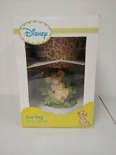 Disney Lion King Simba Lamp Base & Shade Works W/Box