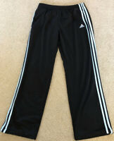 Adidas Mens Climacool Soccer Pants Black and Light Blue Size Small