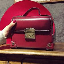 New Women Vintage Leather Shoulder Bag Tote Handbag Messenger Crossbody Satchel