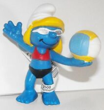 20738 Beach Volleyball Player Smurfette 2012 Olympic Sports Smurf Plastic Figure