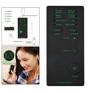 Voice Changer Device Handheld Modulator Device,Sound Effects Machine for Singing