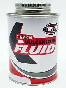 Tyre Repair Vulcanizing Cement Tyre Patch Repair Glue Fluid 250ml Tin Topseal