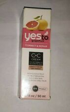 New listing discontinued Yes To Grapefruit Correct & Repair Cc Cream Light Medium uns 2015