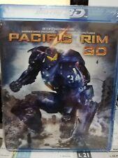 Pacific Rim Combo Blu-ray 3d 2d Digital UV Warner Bros. Toro Guillermo del
