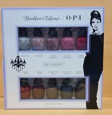OPI Breakfast AT TIFFANY's 10 pieces Mini Polish HR H26