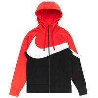 Nike Sportswear NSW Big Swoosh Full Zip Fleece Hoodie BQ6458 657 Msrp $90 L