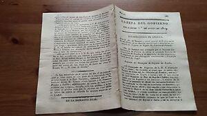Núm. 50 Gazeta del Gobierno del Mártes I Agosto 1809, Guerra de la Independencia