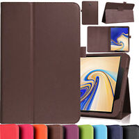 Leather Smart Cover Magnetic Stand Case For Samsung Galaxy Tab S4 10.5 T830 T835