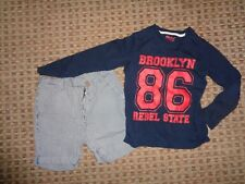 GEORGE- BOYS BUNDLE age 6-7-8 MIXED ITEMS CLOTHES,MULTI,CHINO SHORTS T-SHIRT TOP