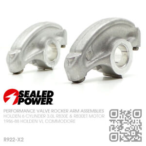 SEALED POWER ROCKER ARMS (2) 6-CYL RB30ET TURBO 3.0L [HOLDEN VL COMMODORE/BT1]