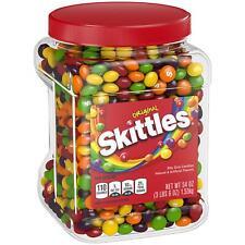 Skittles Original Fruit Rainbow candy bulk vending 54 oz Resealable M&M candies