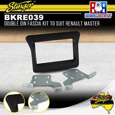 Stinger Bkre039 Double DIN Radio Fascia Kit to Suit RENAULT Master 2011-2017