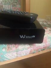VU+ Solo SE HD Linux DVB-S2 Sat Receiver.
